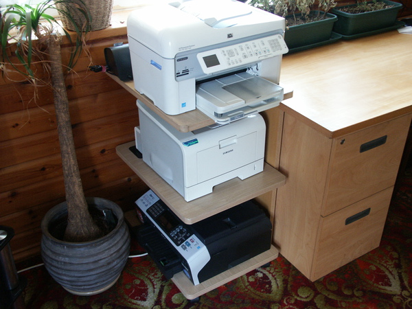 Printer station